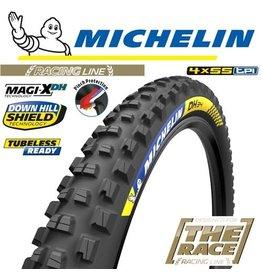"MICHELIN MICHELIN DH34 RACING LINE MAGI-XDH 29x2.4"" TR WIRE  TYRE"