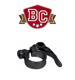 BIKECORP BIKECORP SEAT CLAMP 31.8MM WITH Q/R BLACK