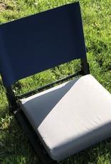 stadium chair navy