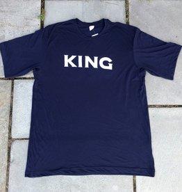 Unisex KING Soft Cotton Tee Navy