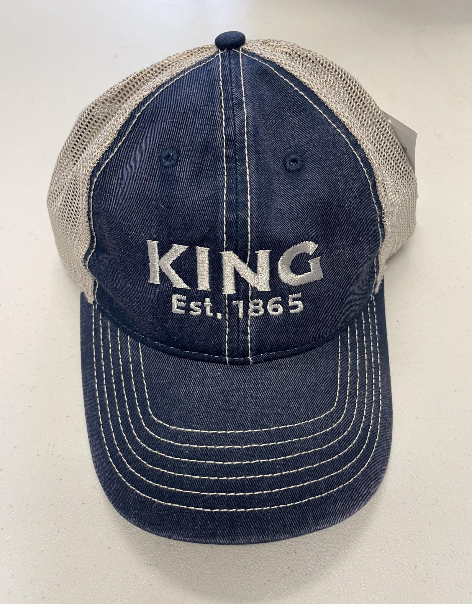 Vintage Cotton Washed Trucker Hat