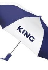 ES Sports Match navy panel on navy/white umbrella