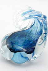 Anchor Bend Glassworks, LLC Glass Wave Scupture-Small