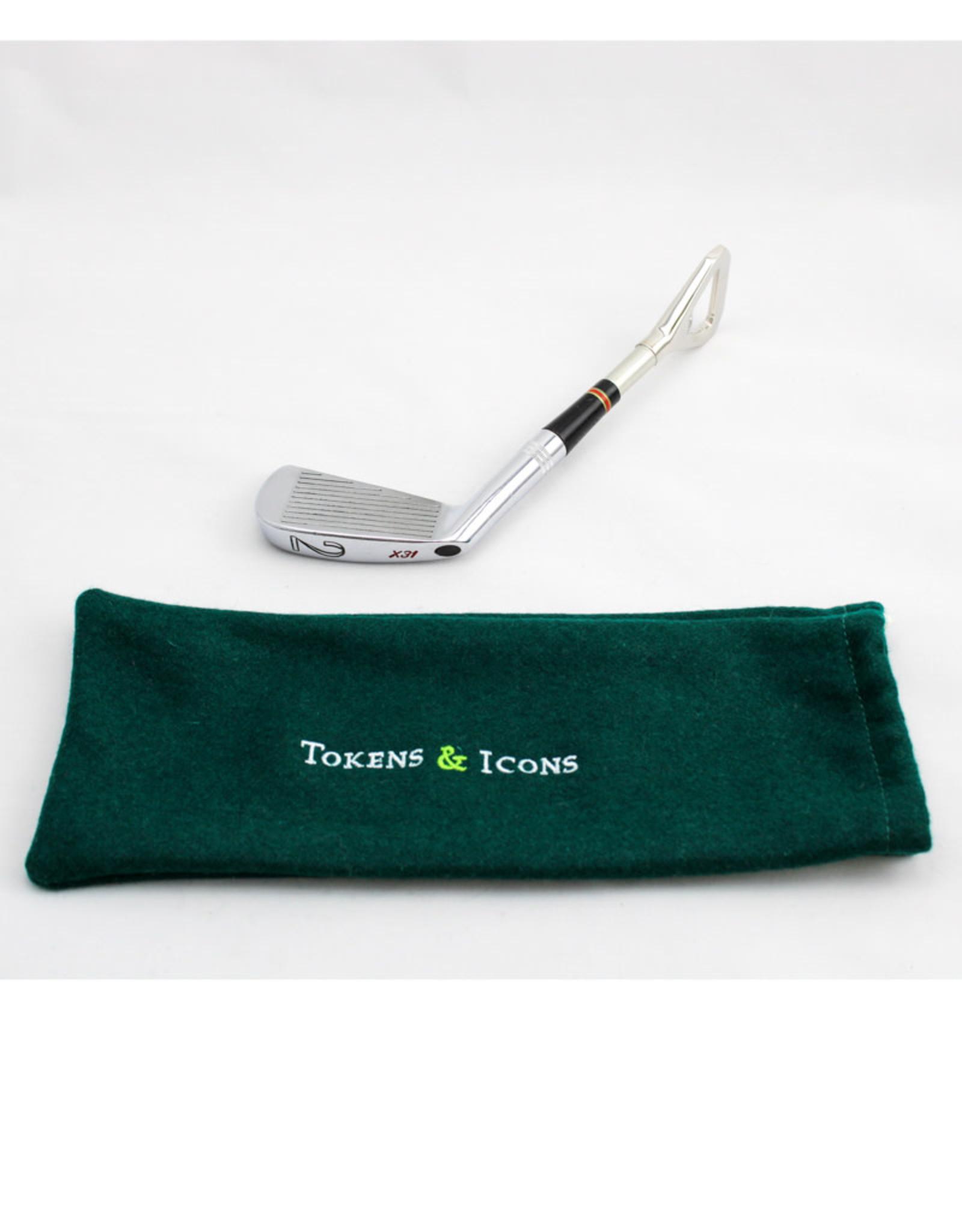 Tokens & Icons Golf Iron Bottle Opener