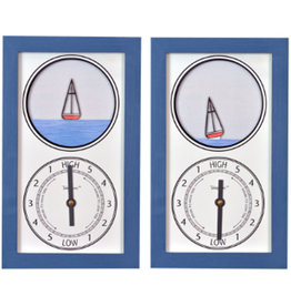 Tide Pieces Tide Clock Sailboat
