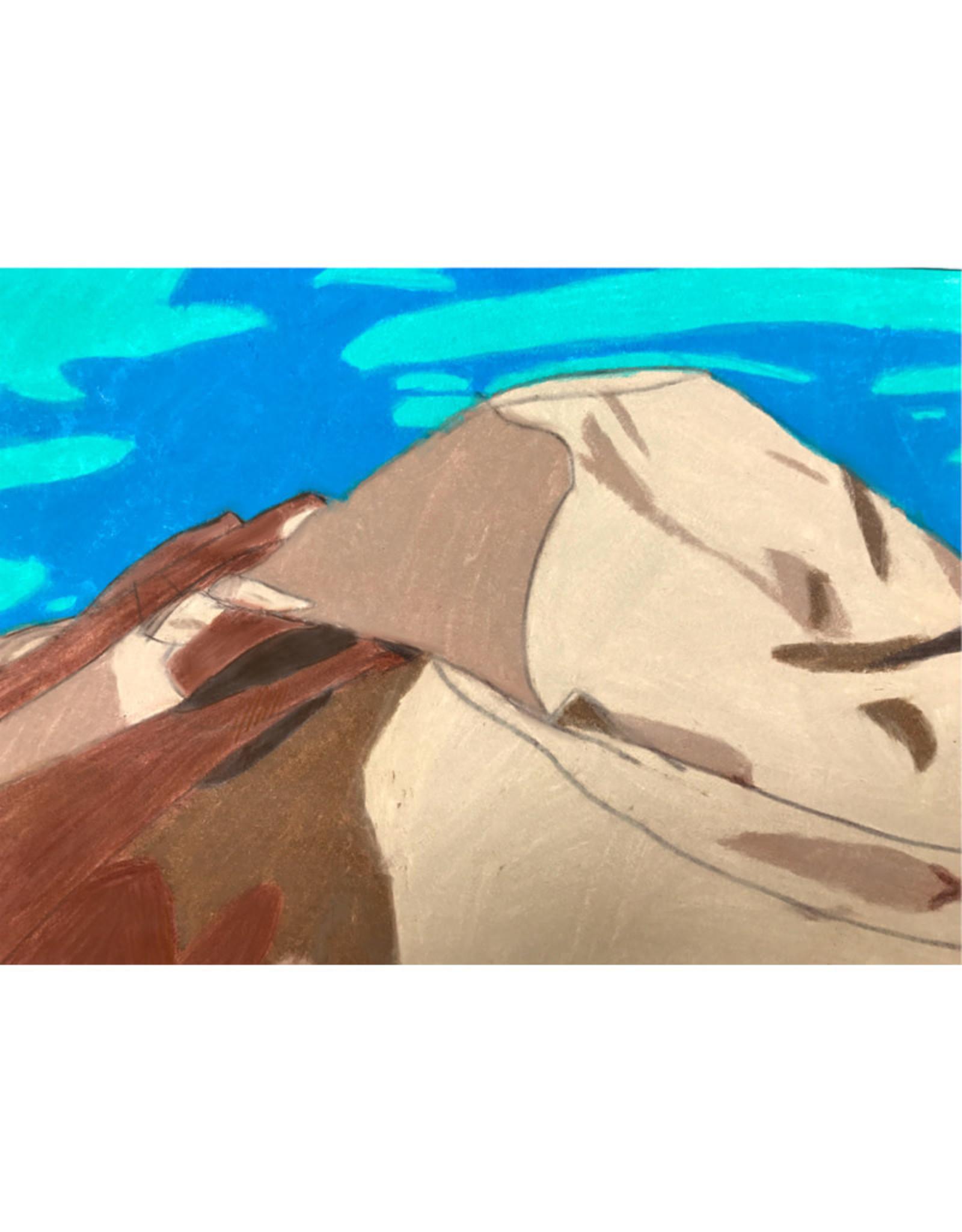 Create Greeting Card-Aqua Desert