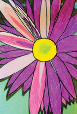 Create Greeting Card-Blank-Purple Flower