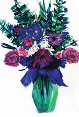 Create Greeting Card-Blank-Bouquet