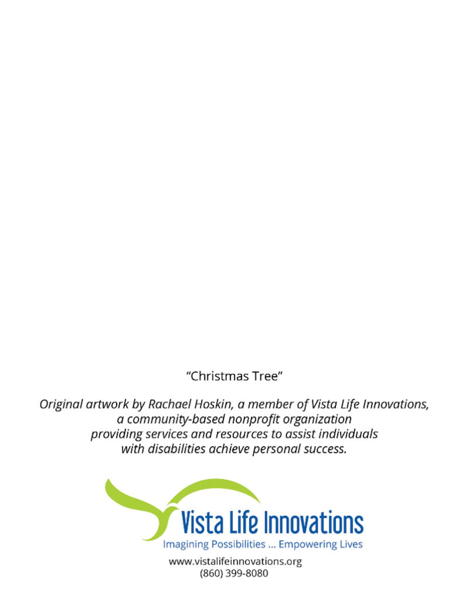 Create Greeting Card-Merry Christmas-Christmas Tree