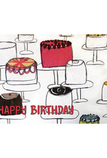 Create Greeting Card-Birthday Cakes