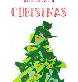 Create Merry Christmas-Christmas Tree