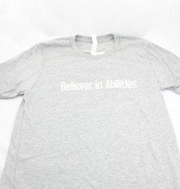 Vista Life Believer Lighthouse SS t-shirt. Mens S Athlet Heather