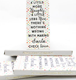 Curly Girl Design CHBAR5 Santa List