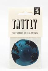 Tattly Earth Tattoo