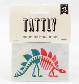 Tattly Stegosaurus Fossil