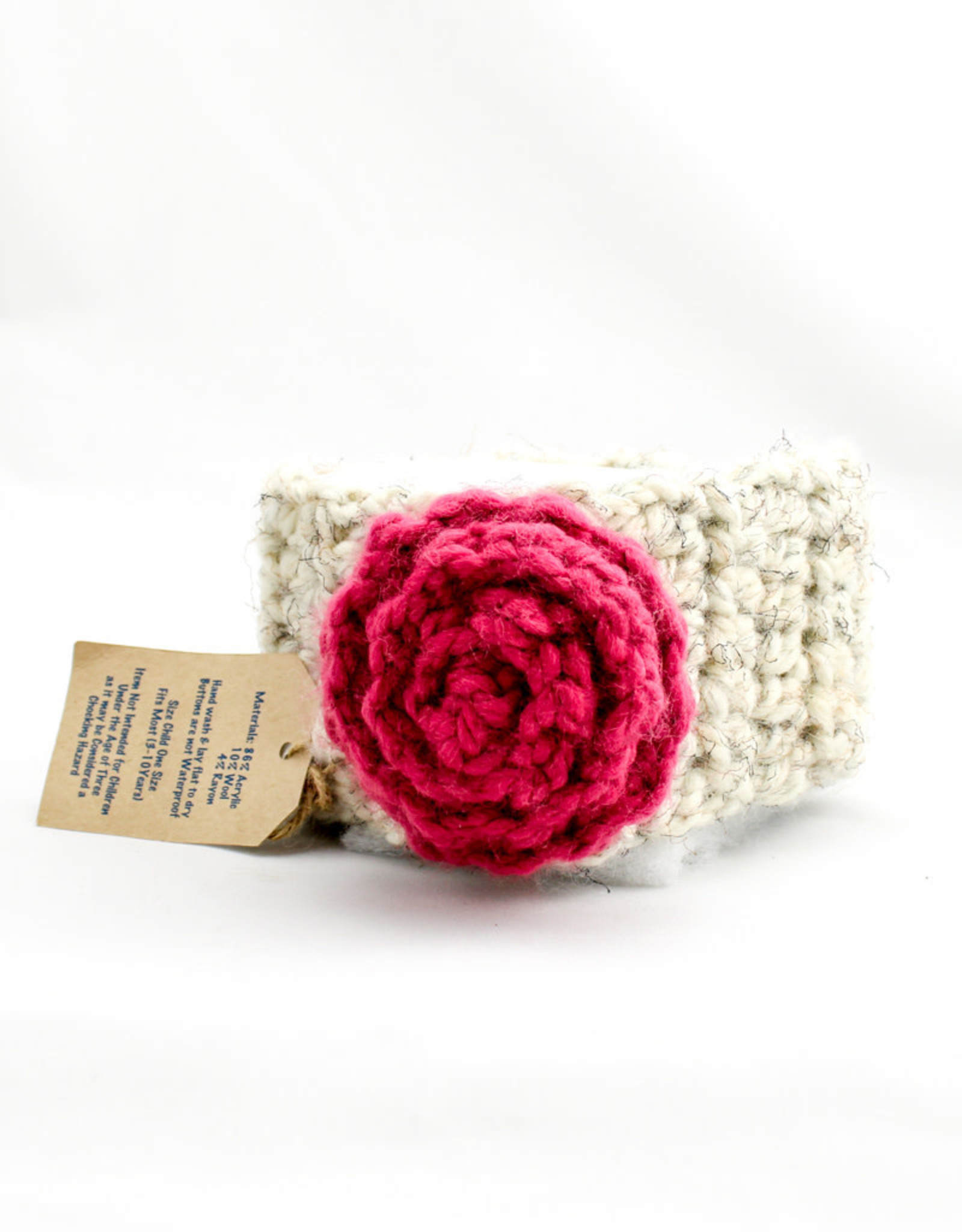 Simply Made By Erin Flower Headband withLarge Rosette