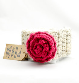 Simply Made By Erin Flower Headband W/ Large Rosette