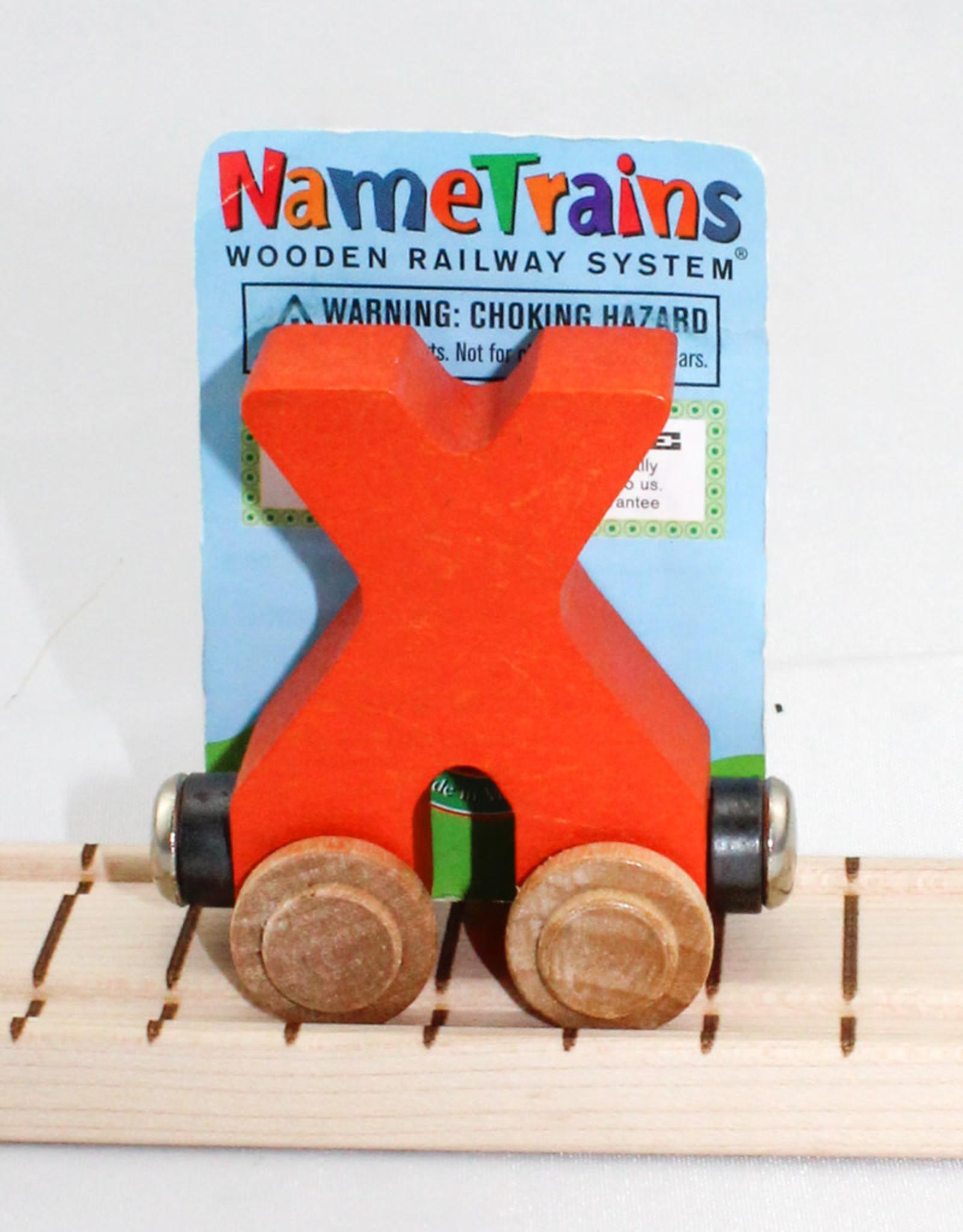 Maple Landmark, Inc Bright Letter X Car