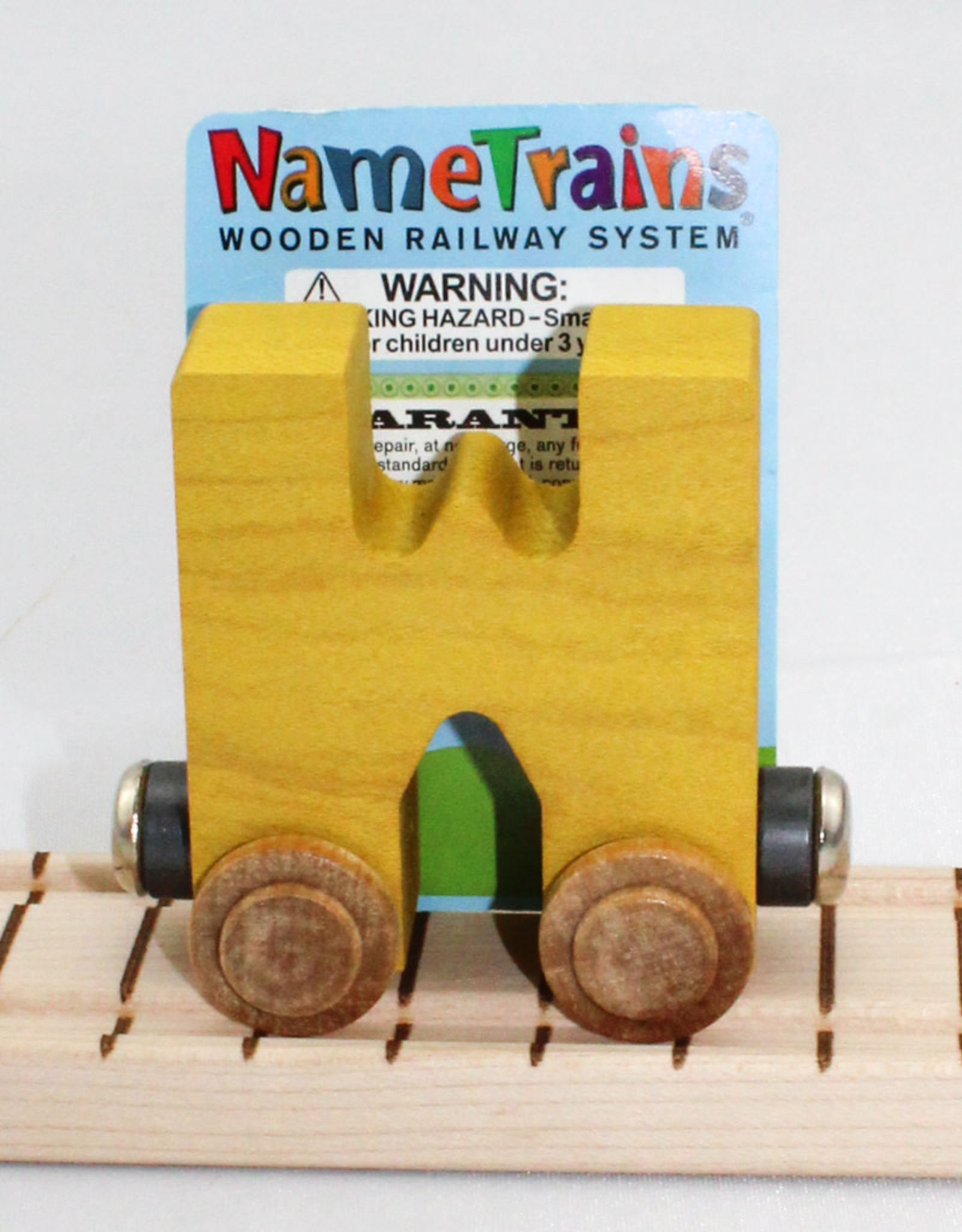 Maple Landmark, Inc Bright Letter W Car