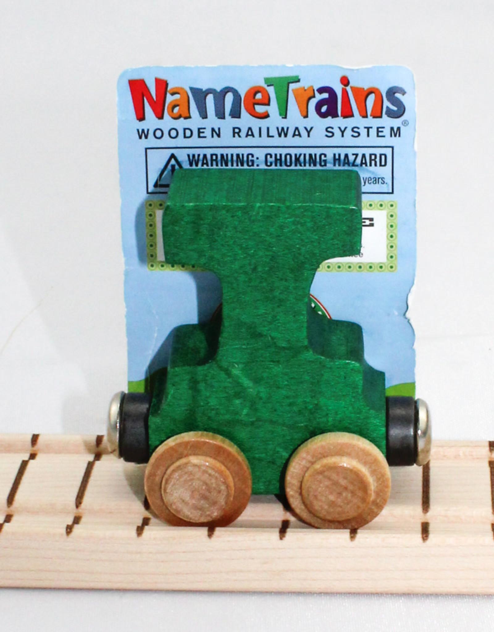 Maple Landmark, Inc Bright Letter T Car