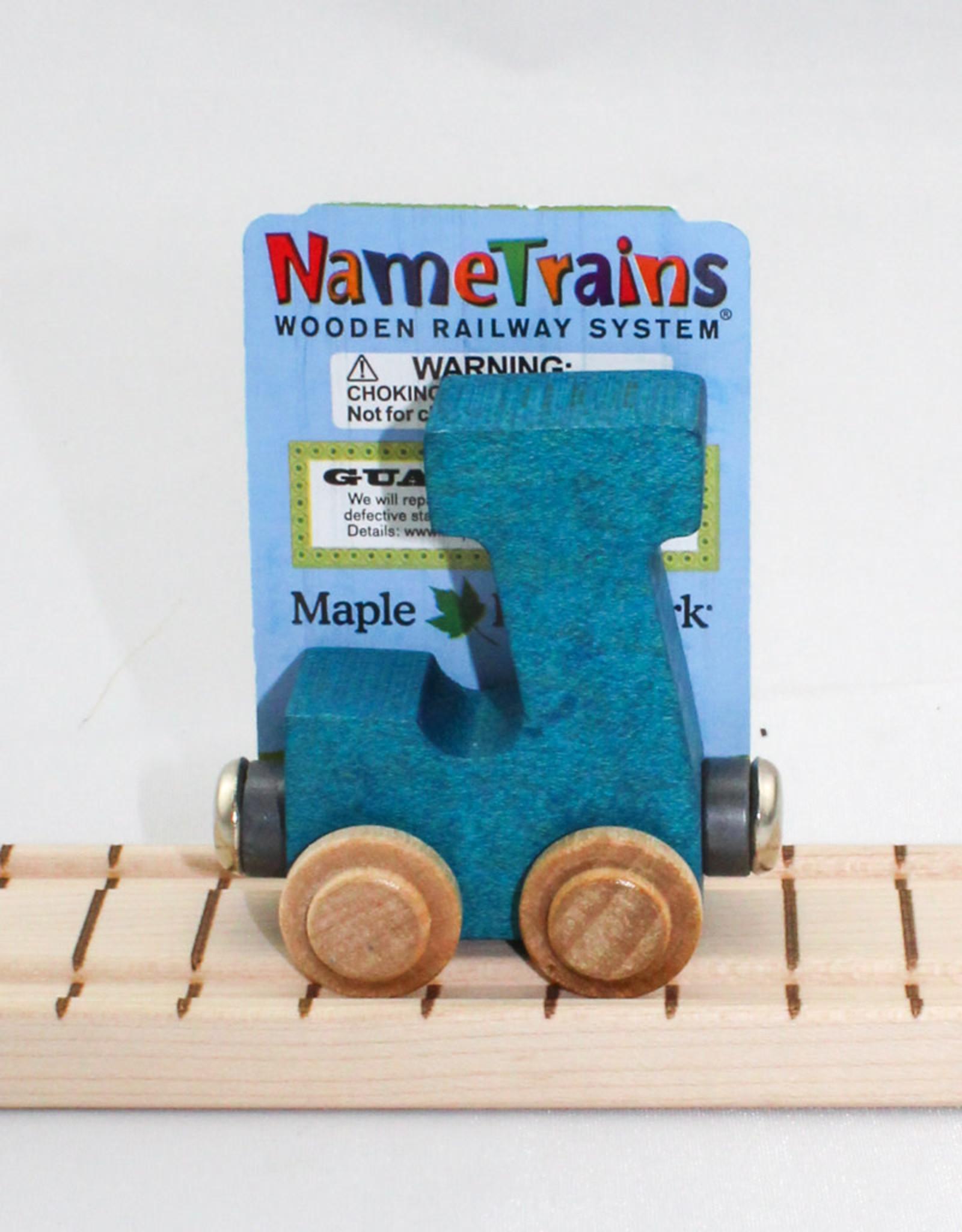 Maple Landmark, Inc Bright Letter J Car