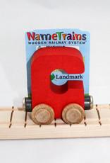 Maple Landmark, Inc Bright Letter C Car