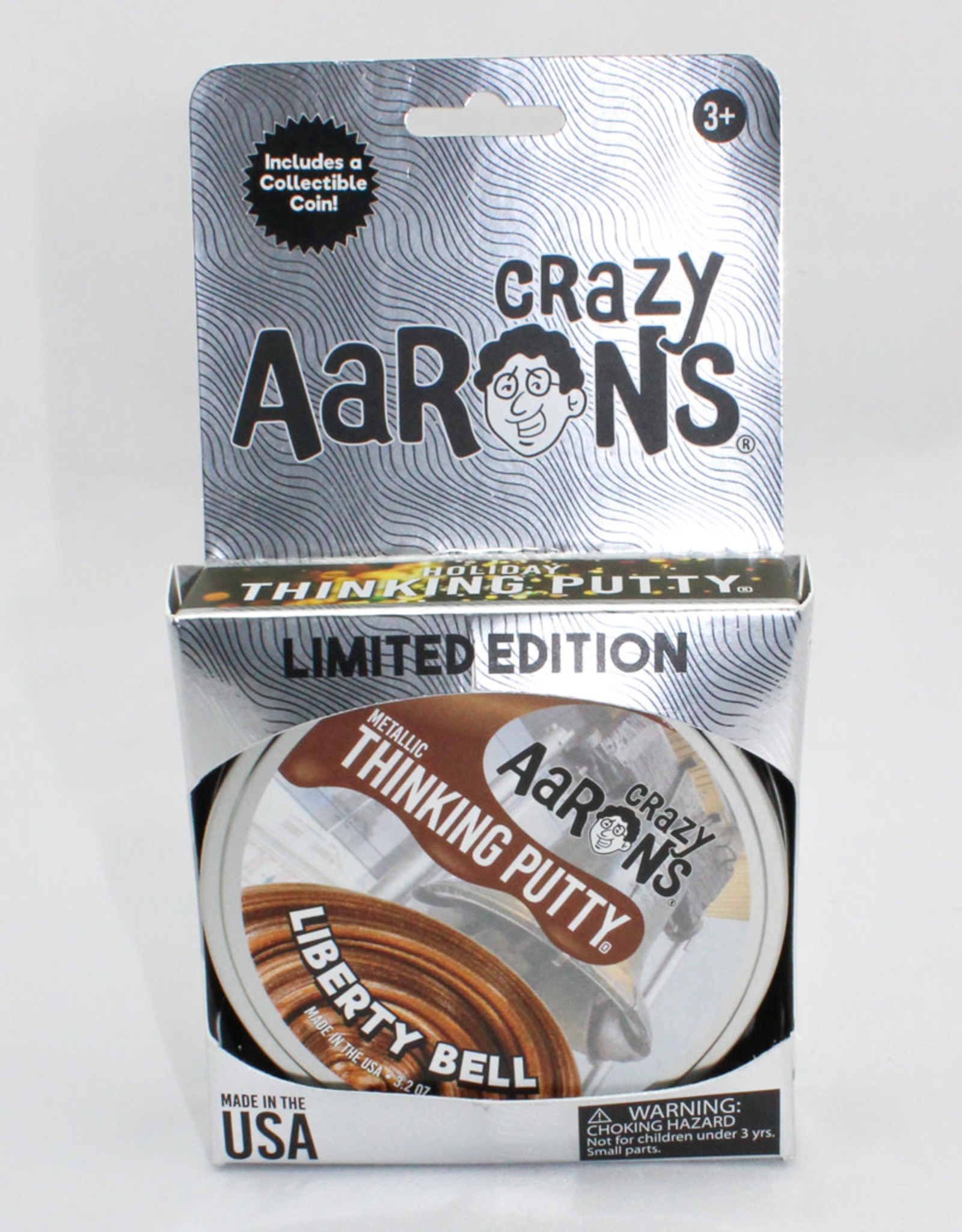 Crazy Aarons Putty 4'' Liberty Bell