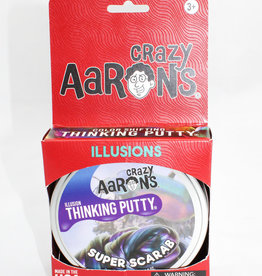 "Crazy Aarons Putty 4"" Super Scarab - Crazy Aaron's Thinking Putty"