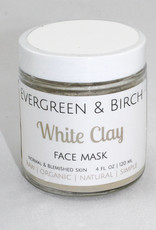 Evergreen & Birch White Clay Mask
