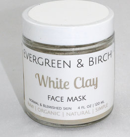 Evergreen & Birch White Clay Mask