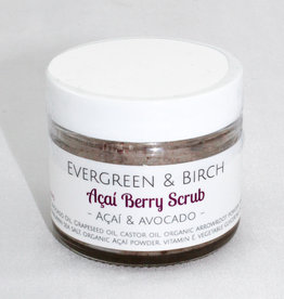 Evergreen & Birch Acai Scrub