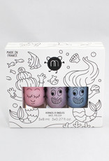 Nailmatic Mermaid set of 3 Nail Polish