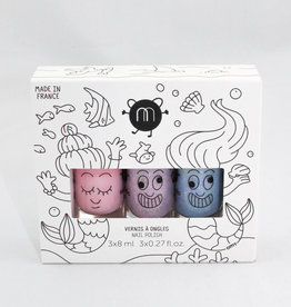 Nailmatic Mermaid set of 3