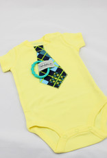 Happy Baby LLC Yellow Tie Short Sleeve-3m