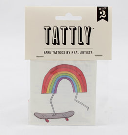 Tattly Rainbow Skateboard
