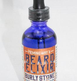 Burly Stone Soap Co. Hemingway Beard Elixir