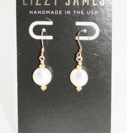 Lizzy James Emmeline Gold Earrings-OS