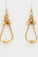 Peter M. Jewelry Gold Tone Earrings