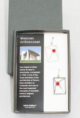 David Howell & Company Windows of Ronchamp Earrings