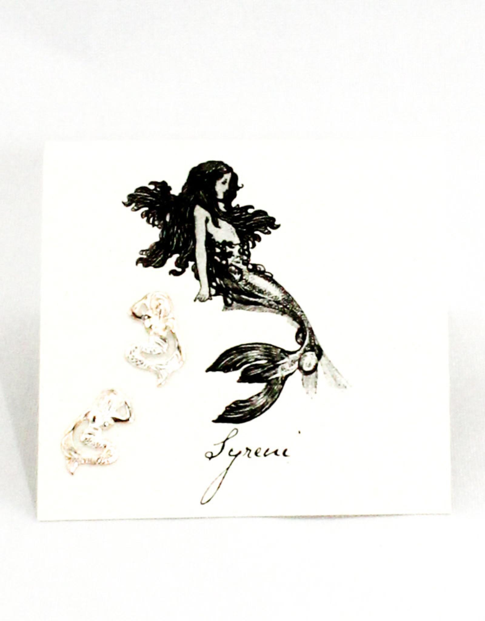 Semaki & Bird Mermaid Sterling Earrings