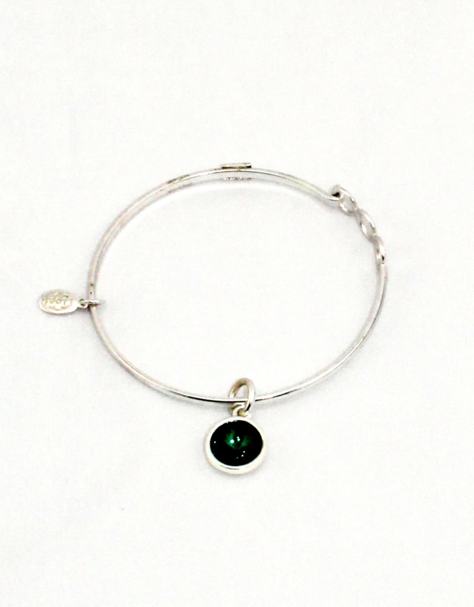 Float Jewelry Silver Adjustable Bracelet-May