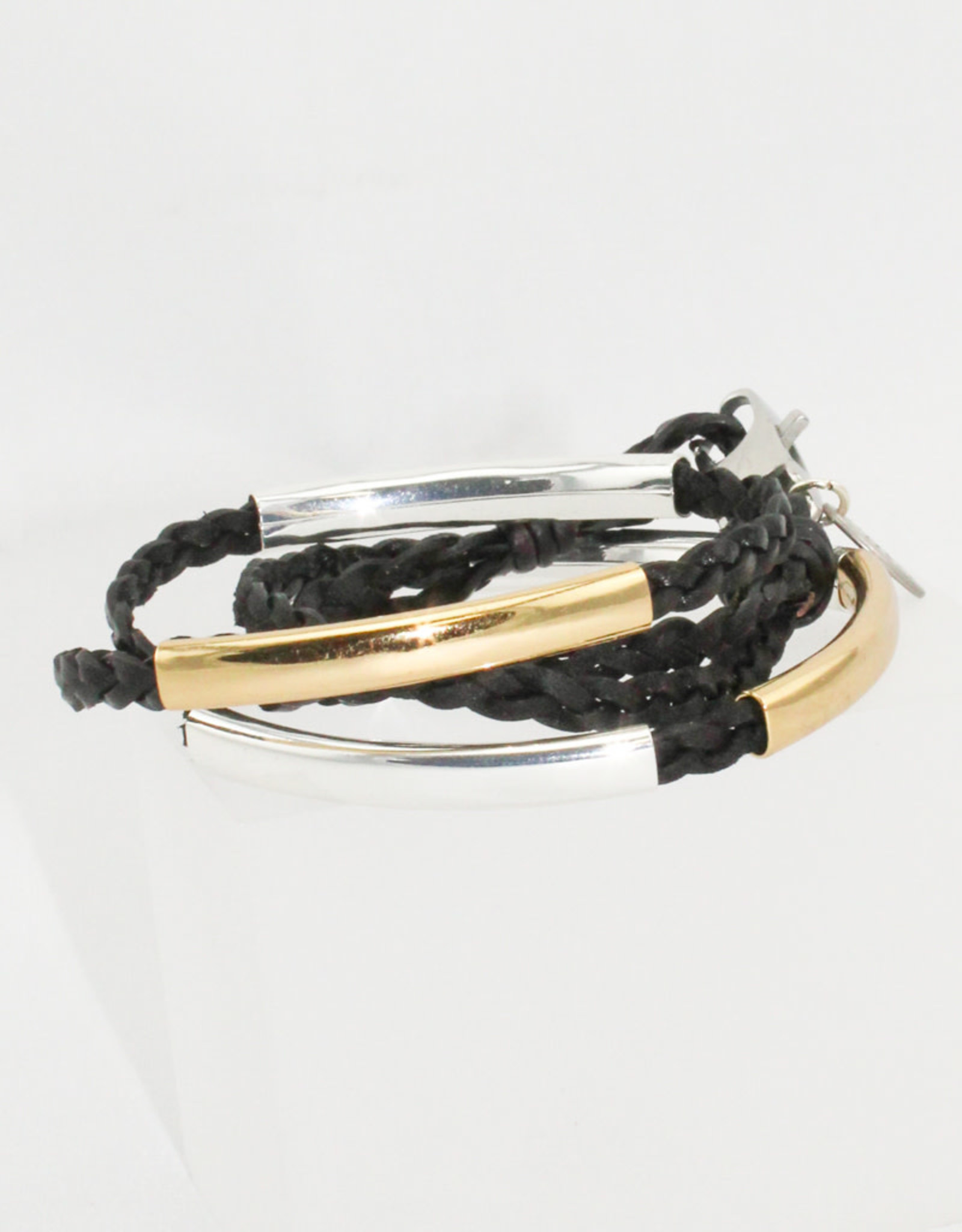 Lizzy James Mini Addison-Nat Black-2-SG-M Bracelet