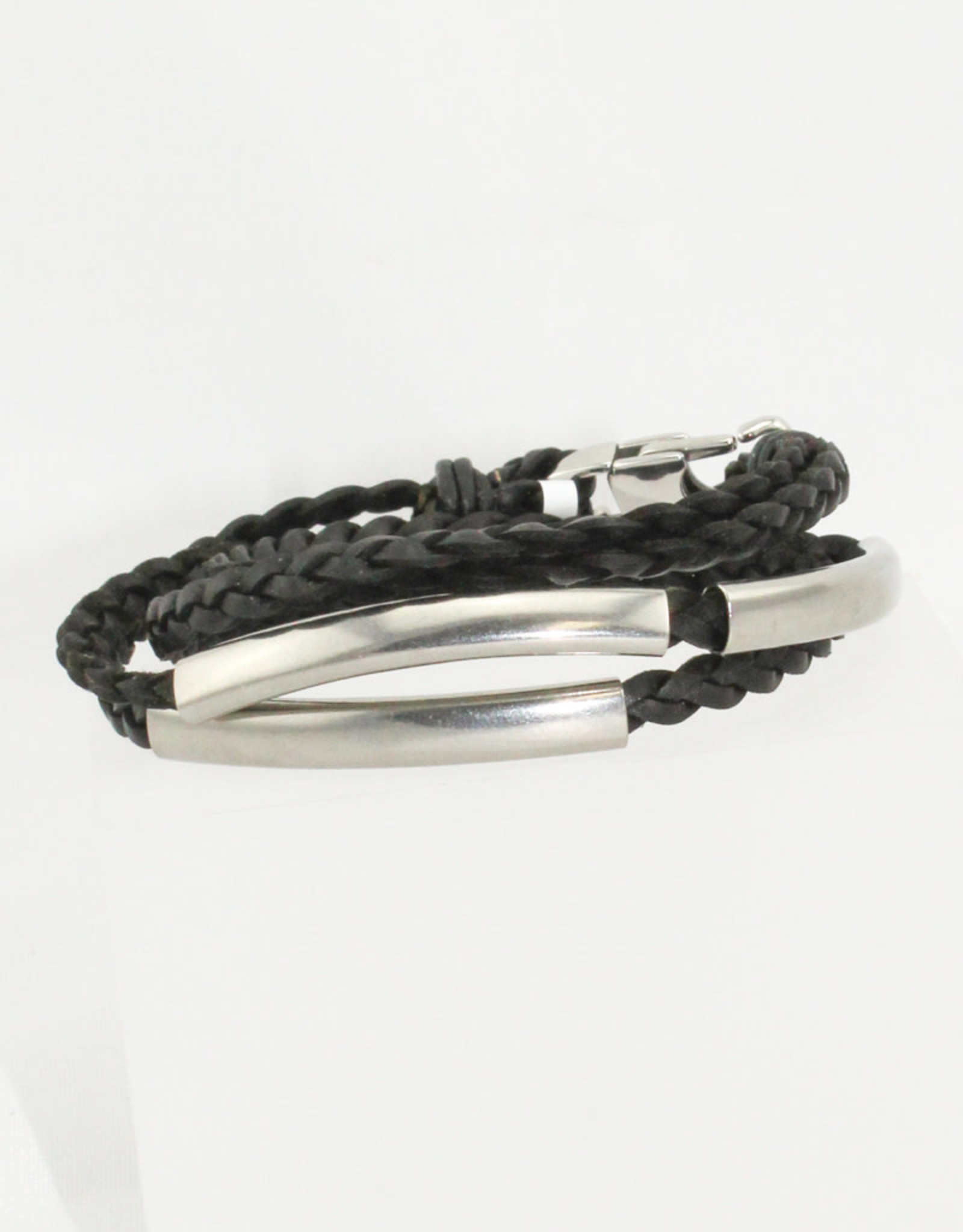 Lizzy James Mini Aiden-Nat Black-2-SS-L Bracelet