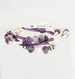 Lizzy James Violet Met Berry 2 -SP- S Bracelet
