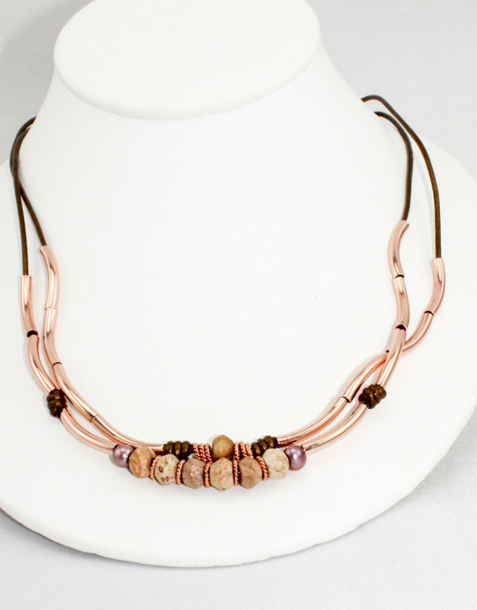 Lizzy James Fig-Met Bronze-2-RGP-M Bracelet
