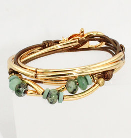 Lizzy James Kerry Gold Met Bronze 2 -GP-M Bracelet