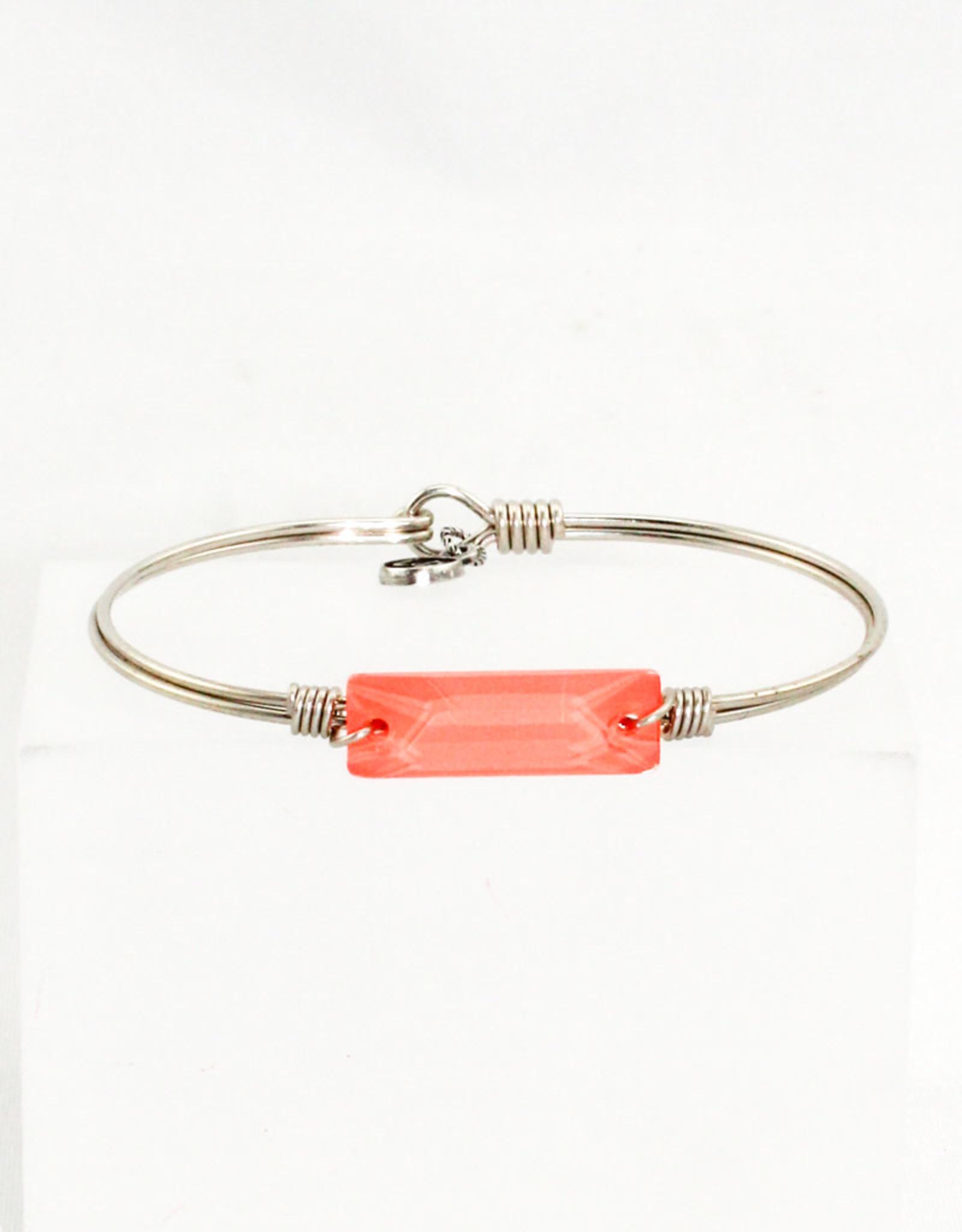 Luca + Danni Hudson Bracelet In Living Coral-Regular size