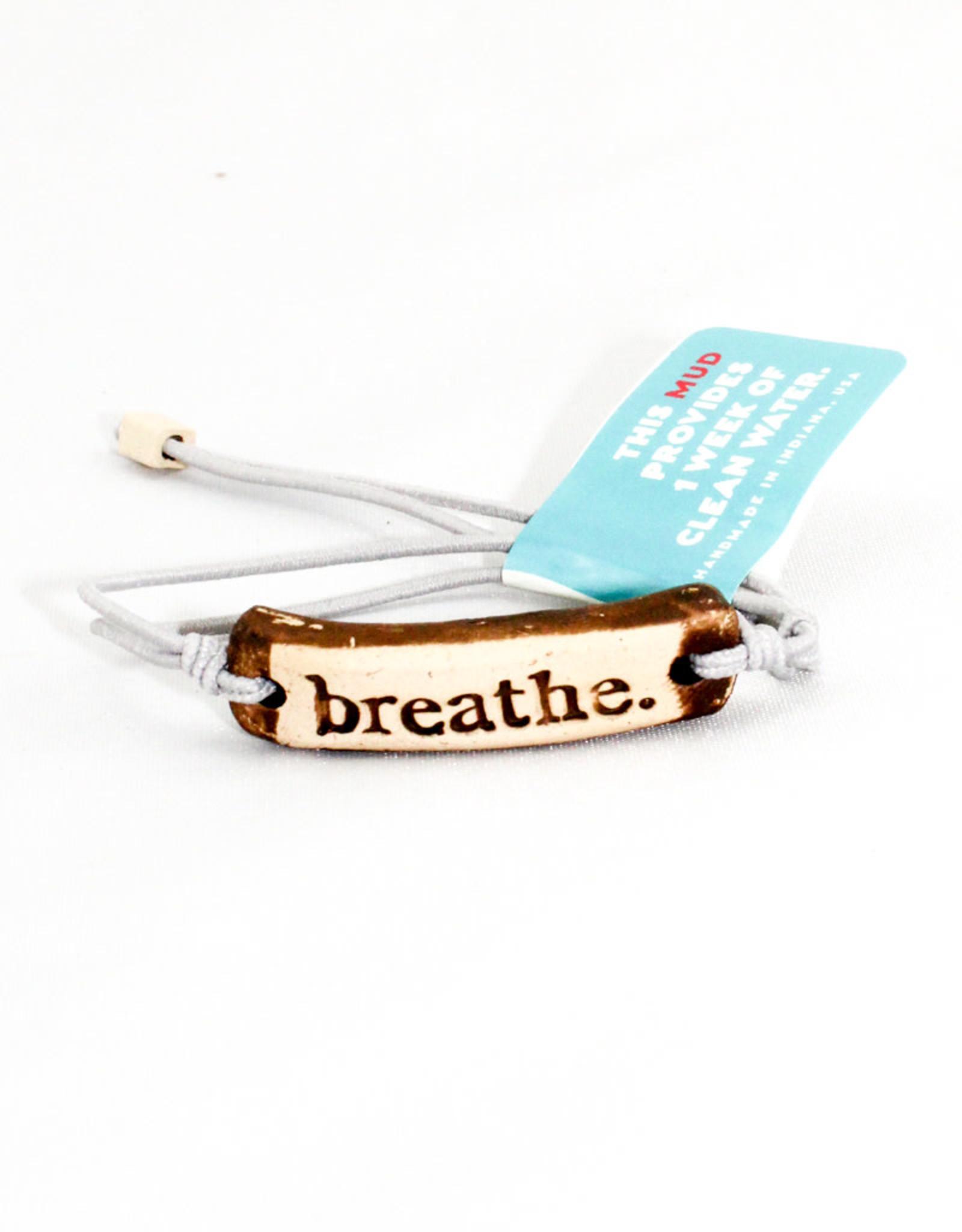 Mud Love Breathe Bracelet