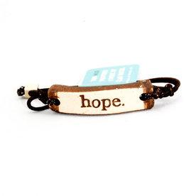 Mud Love Hope Bracelet