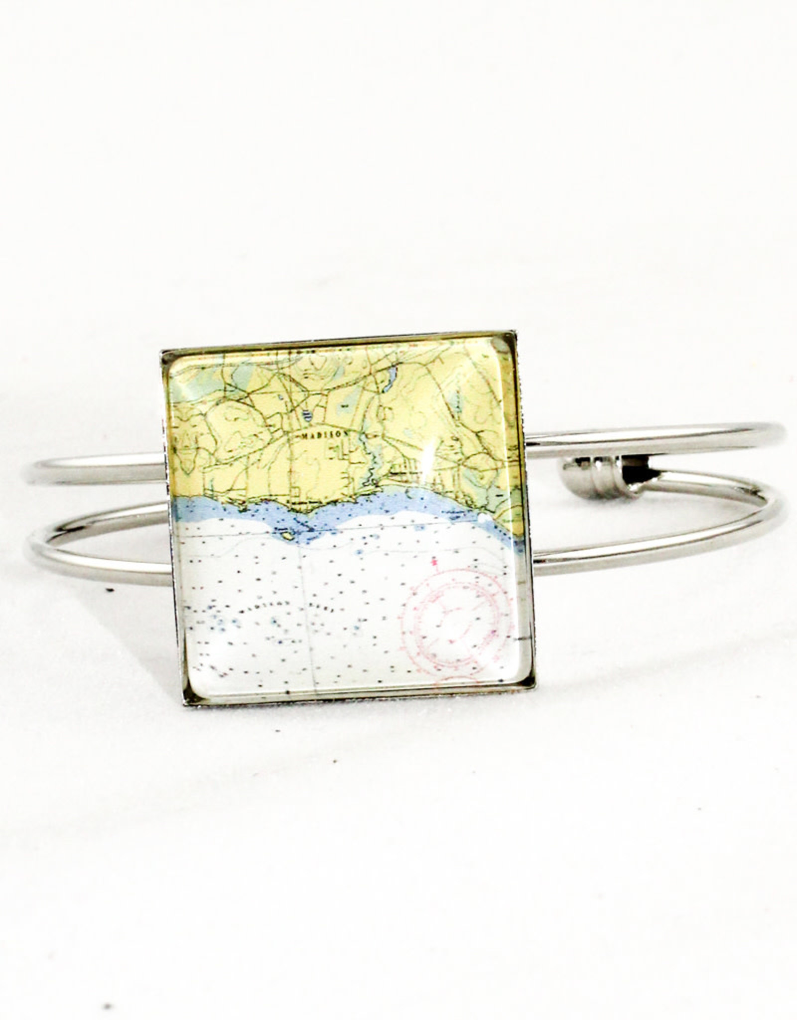 Screen Craft Tile Works Madison Square Cabochon Cuff